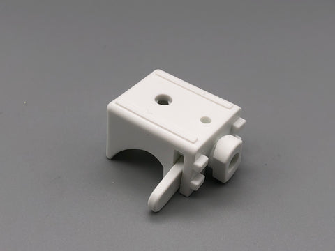 Plastic Wall & Ceiling Mount Swivel Bracket - 30mm Extension - for Aluminium Baton Roman Systems - Pack of 100 - www.mydecorstore.co.uk