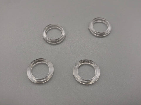 Roman Blinds Clear Plastic Ring - ID 10mm - Pack of 20,000