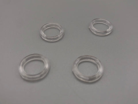 Roman Blind Clear Plastic Ring - 13mm Diameter - Replacement Parts for Roman Blinds - www.mydecorstore.co.uk