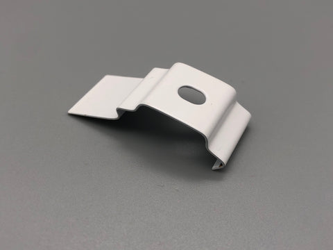 Vertical Blind Top fix brackets clips for Narrow Headrail Pack of 1,000