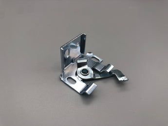 Swivel Angle Bracket For 25mm Metal Venetian Blinds Wall and Ceiling Swivel Lock - Steel Zinc Standard Size - Pack of 100