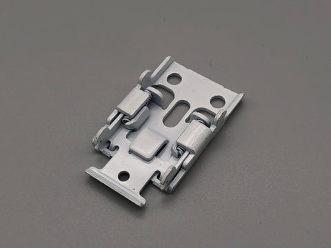 Hidden Bracket for Roman Blinds - Spring Tension Ceiling Metal Brackets - Pack of 100 - www.mydecorstore.co.uk