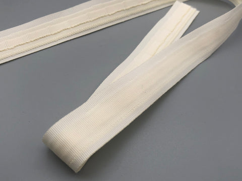 Roman Blinds Tape - Ivory 18mm Wide - 100 meters @ £0.19 / meter - www.mydecorstore.co.uk