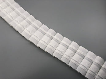 "Pencil Pleat Curtain Header Tape 4cm (1.6"") Wide - White - 100% Polyester - 100 Yards / Curtain Heading Tape"