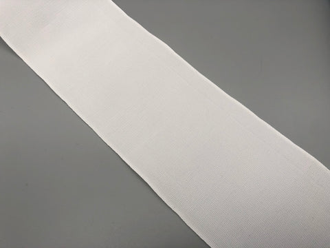 "Curtain Sew-in Buckram 100mm (4"") Wide - White - 100% Polyester - 100 Yards / Curtain Header Tape"