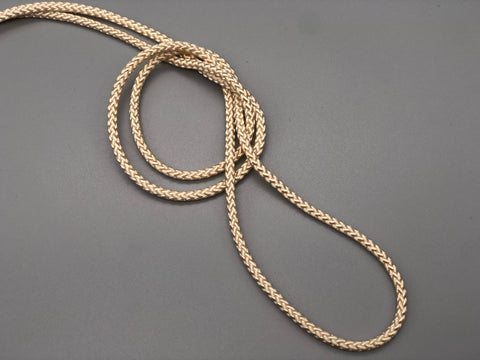 3mm Non-Stretched Cream Cord for Curtains - 8ply - 5,000mtr - www.mydecorstore.co.uk