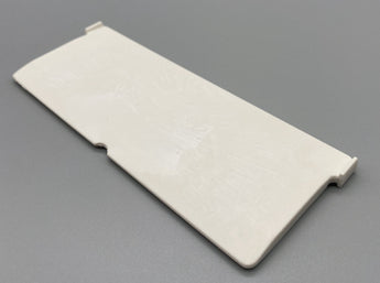 127mm Vertical Blinds Chainless Bottom Weights - White Plastic Bottom Chainless Weight for Vertical Blinds - From £0.06 - www.mydecorstore.co.uk
