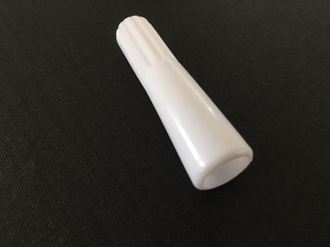 Vertical Blinds Wand Handle - White Plastic Wand Handle - Pack of 100 - www.mydecorstore.co.uk