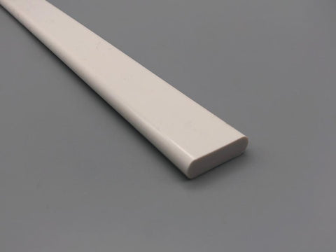 100 meters x Solid Plastic Bottom Bar for Roller Roman and Panel blinds - Heavy