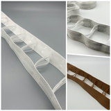 Ladder tape for 50mm wood and metal venetian blinds - Different Colour Options - 50 meters - www.mydecorstore.co.uk