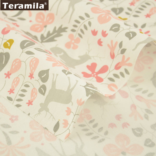 Sewing For Art Work 100% Cotton Twill Fabric Curtains Pillows Meter Fabric For Sewing Clothing Dolls