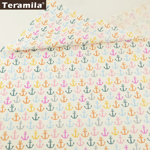 Home Textile New Arrival 100% Cotton Twill Fabric Bedding Set Dolls  Anchors Design Quilting