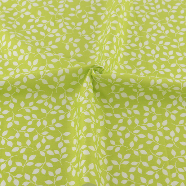 5 Designs Green Cotton Fabric For Sewing Patchwork quilting Doll Bedding home textile