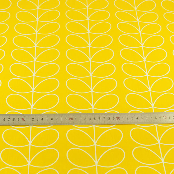 Yellow Tree Cotton Twill Fabric Teramila Home Textile Sewing Bedding Quilting Clothing Craft