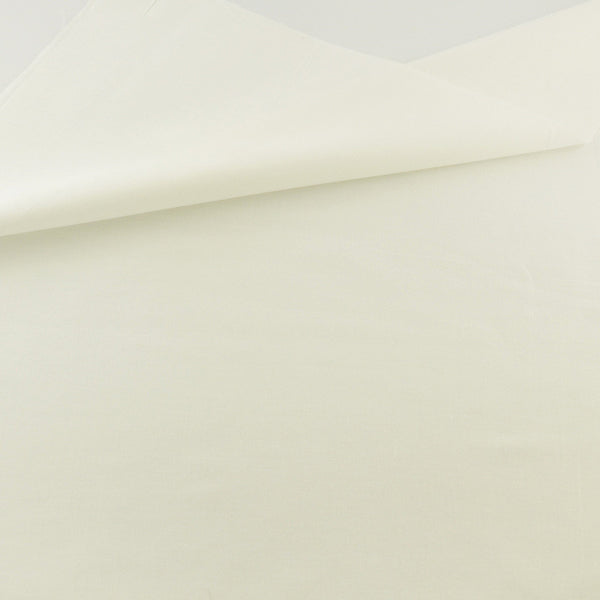 Cream White Cotton Twill Fabric Teramila Home Textile Sewing Bedding Quilting Clothing Craft