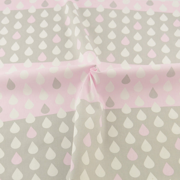 Pink Cloud Cotton Twill Fabric Teramila Home Textile Sewing Bedding Quilting Clothing Craft