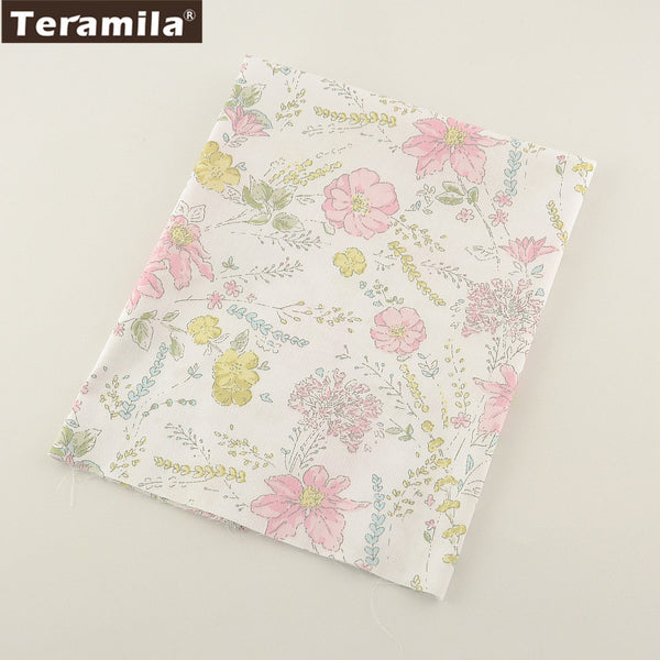 Printed Floral Designs TERAMILA  Home Textile Material Bed Sheet  Patchwork Quilting