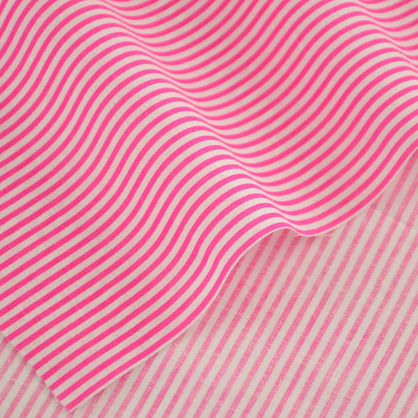 100% Cotton Fabric Pink and White Stripes Designs Patchwork Decoration Tissue Home Textile