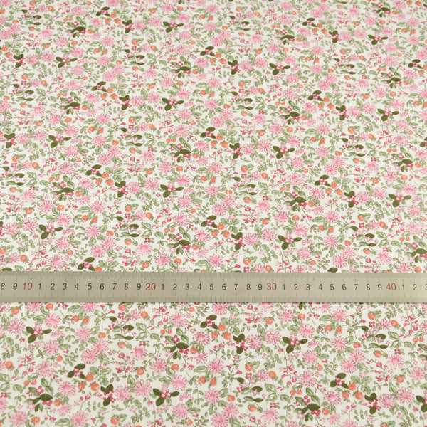 100% Cotton Fabric Patchwork Lovely Little Flowers Designs Tecido Fabrics Doll Clothing