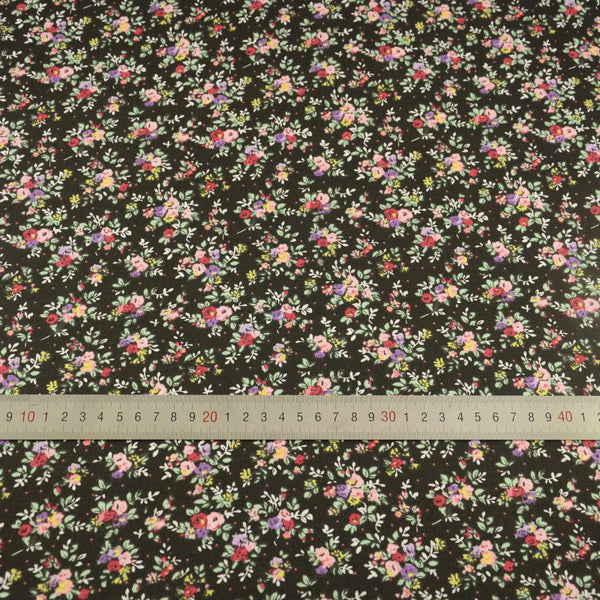 New Arrivasl 100% Cotton Fabric Lovely Flowers Designs Sewing Clothing Patchwork