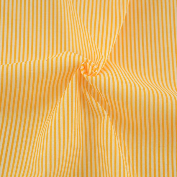 Cotton Fabrics Tecido Crafts dark Orange and White Stripe Design Patchwork Tissue Fabric Sewing
