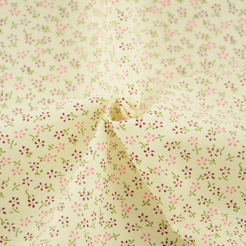 100% Cotton Fabric Home Textile Purple and Pink Floral Designs Tecido Doll Sewing Patchwork