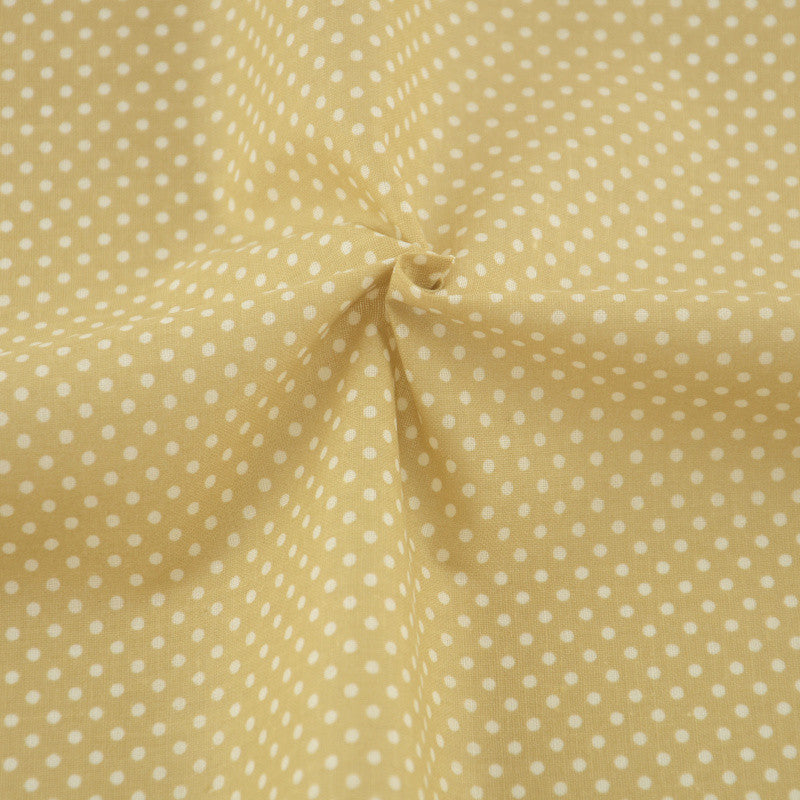 100% Cotton Fabrics Home Textile Cloth Sewing Tecido Tilda Light White Dot Style Tissue Patchwork