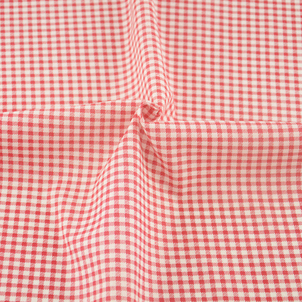 100% Cotton Fabric White And Red Check Design Telas Tissue Patchwork Home Texitle Art Work
