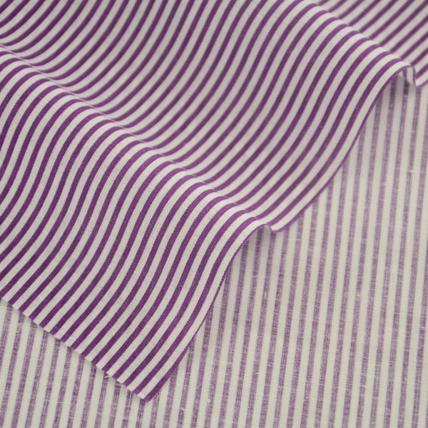 100% Plain Cotton Fabrics Printed Purple And White Strips Pre-cut Home Textile Patchwork