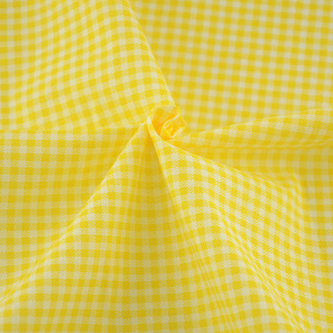 100% Cotton Fabric Gold and White Check Style Fat Quarter Patchwork Sewing Tissue Crafts Doll