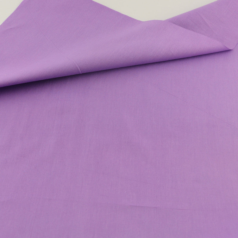 Purple Cotton Twill Fabric Teramila Home Textile Sewing Bedding Quilting Clothing Craft