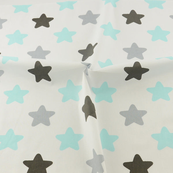 Stars Cotton Twill Fabric Teramila Home Textile Sewing Bedding Quilting Clothing Craft