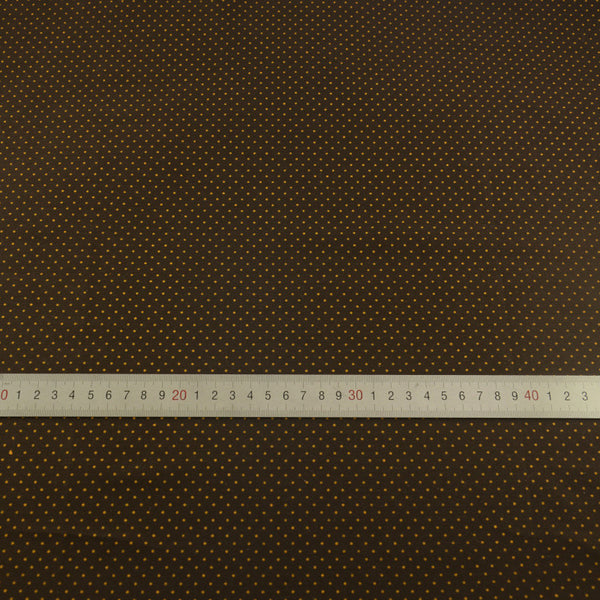 Coffee Dot Stripe Cotton Twill Fabric Teramila Home Textile Sewing Bedding Quilting Clothing Craft