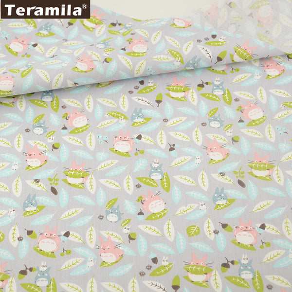 Animal Cotton Twill Fabric Teramila Home Textile Sewing Bedding Quilting Clothing Craft