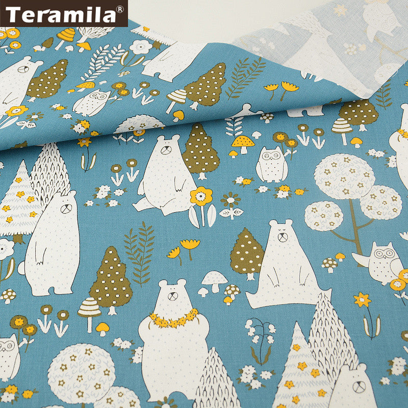 100% Cotton Fabric Twill Home Textile Material Bed Sheet Patchwork ...