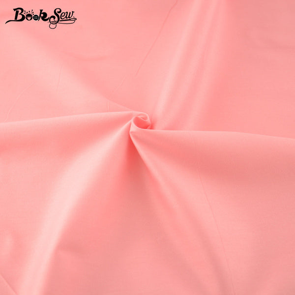 Solid Weak Pink Color 100% Cotton Good Quality  Home Textile Material Bed Sheet Patchwork
