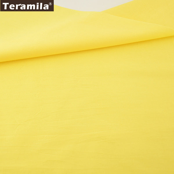 Classic Solid Yellow Color Home Textile Material Baby Sewing Clothing Tissue