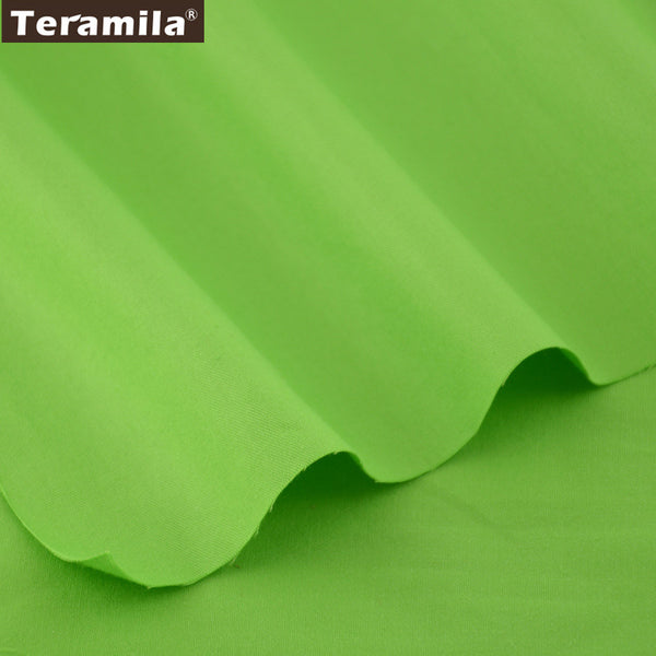 Home Textile Material Bedding Patchwork Classic Solid Green Color Cloth children  Pillow Curtain