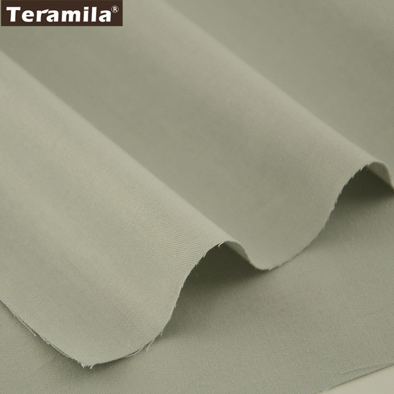 Solid Light Brown Color Cotton Fabric Twill Fat Quarter Material Bed Sheet  Home Textile Quilting