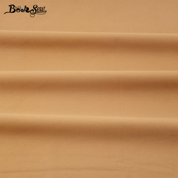 100% Classic Solid Coffee Color Cotton Fabric Twill Home Textile Material Bed Sheet  Patchwork