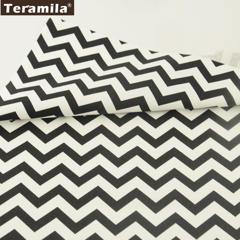 Waves Cotton Twill Fabric Teramila Home Textile Sewing Bedding Quilting Clothing Craft