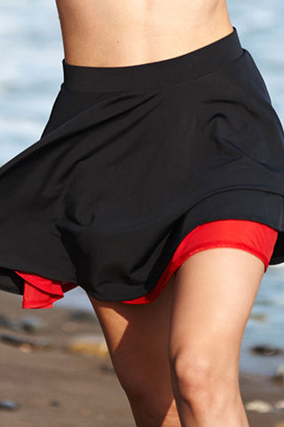 'Red Secrets' Skater Skirt