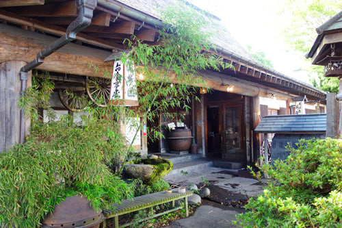 A secret place of slef-cooking robata (fireside-cooking) restaurant.