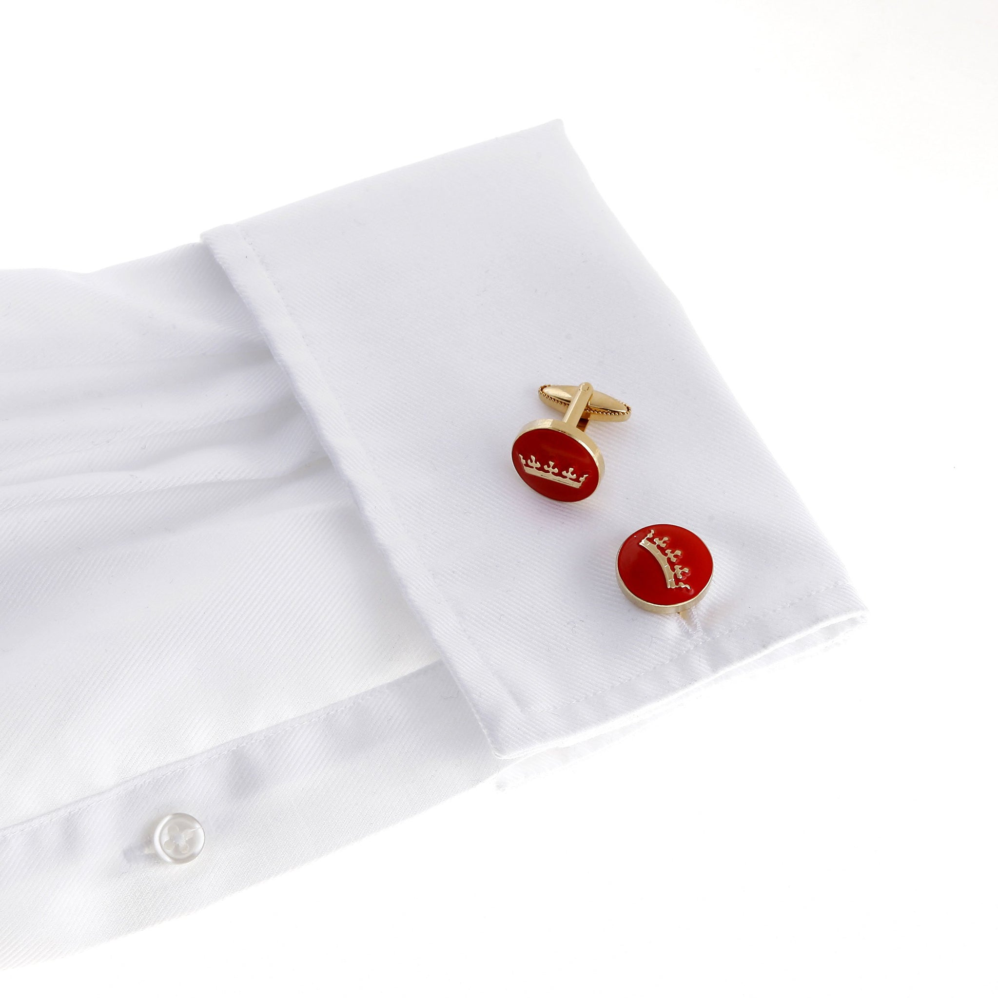The Crown Cufflink