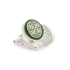 The Celtic Shield Cufflink - Wimbledon Cufflink Company