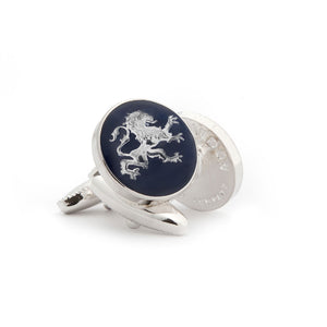 The English Lion Cufflinks - Wimbledon Cufflink Company
