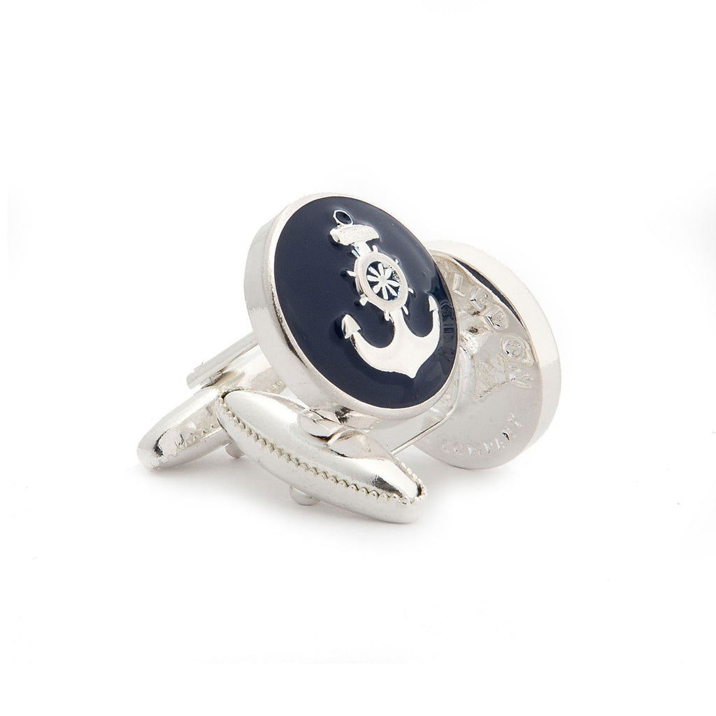 The Ship's Anchor Cufflink - Wimbledon Cufflink Company