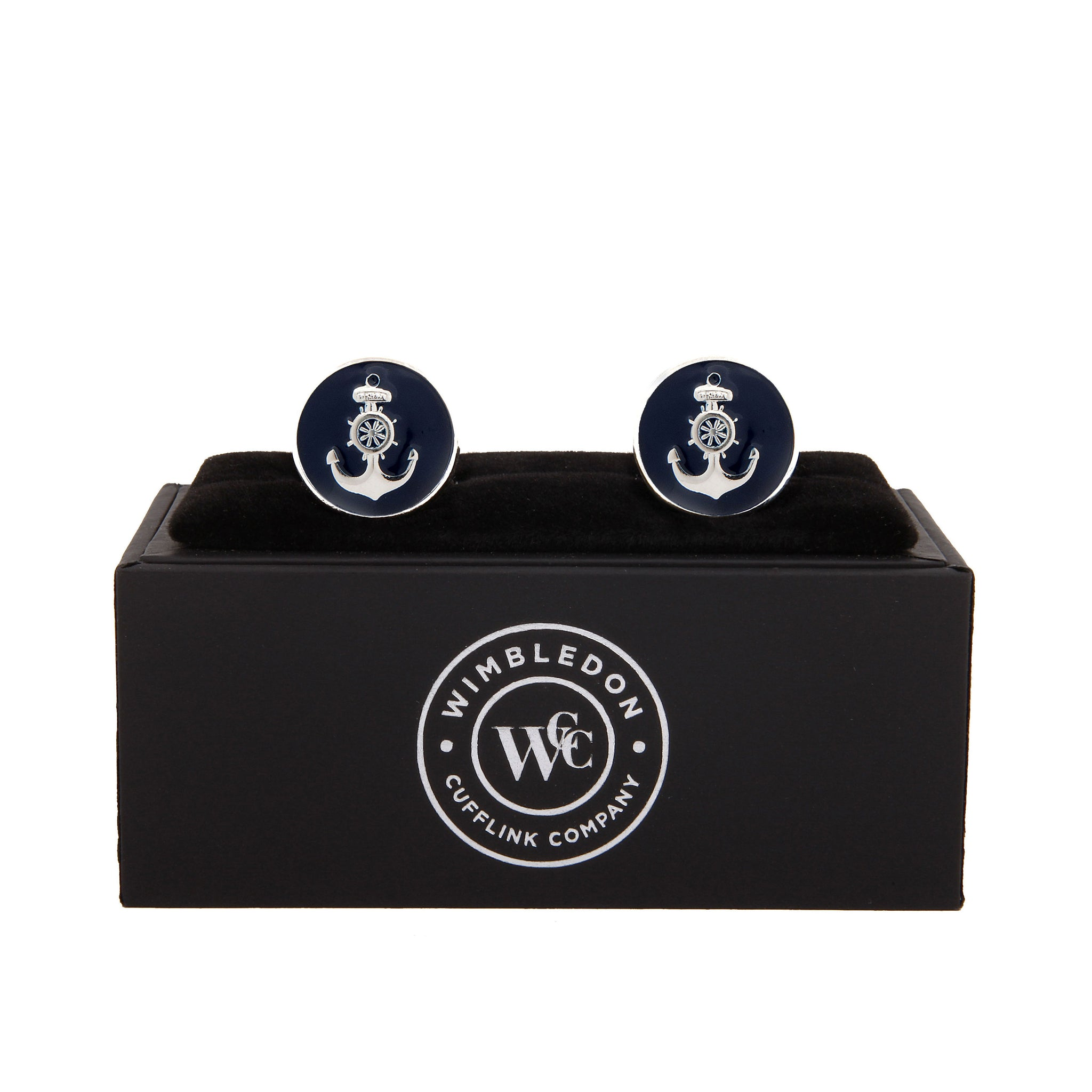 The Ship's Anchor Cufflink