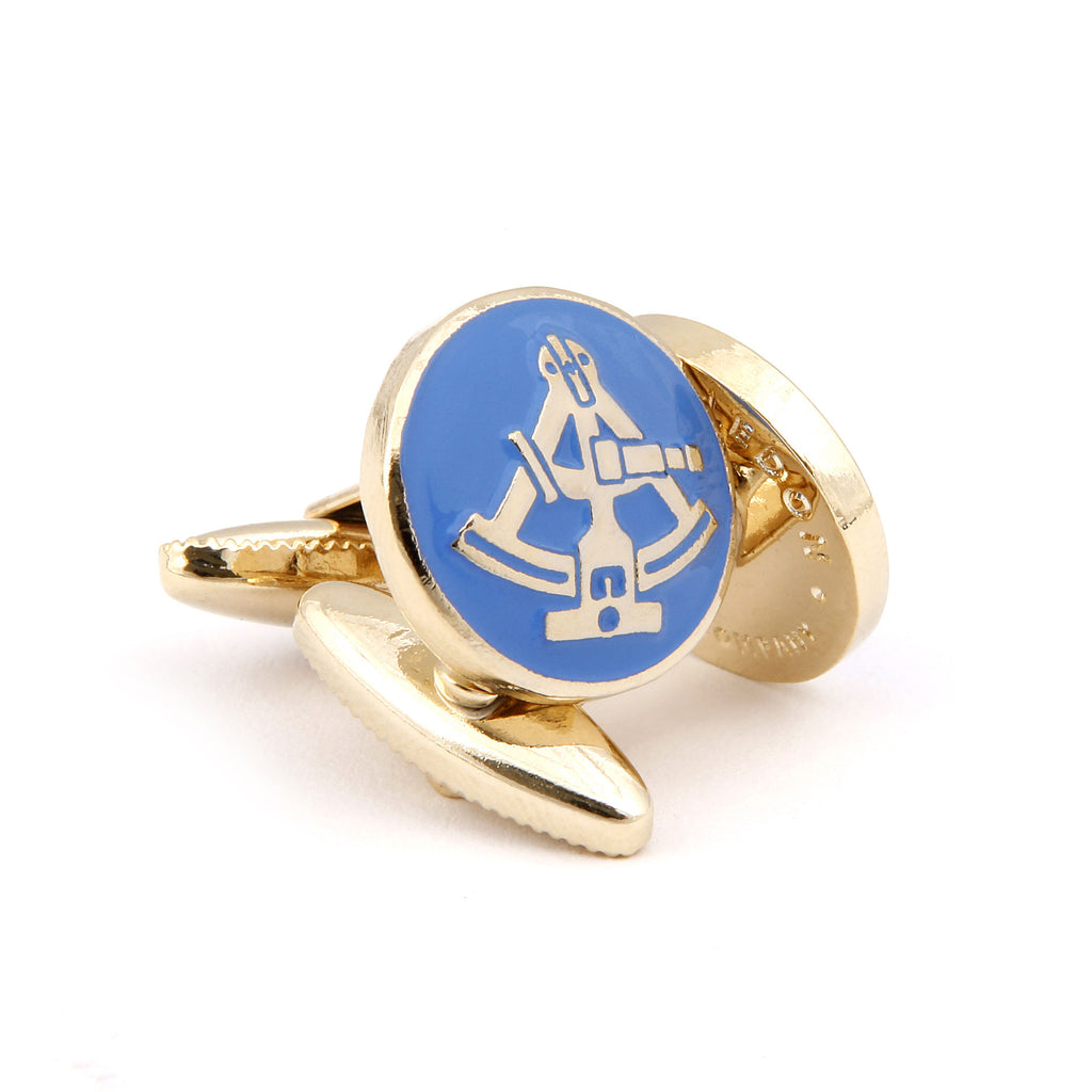 The Sextant Cufflink