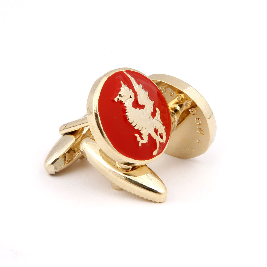 The Golden Dragon Cufflink